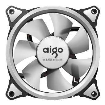 Harga Aigo Eclipse 12CM LED Ring Casing Fan (White)