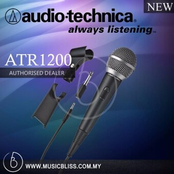 Harga Audio-Technica ATR1200 Unidirectional Dynamic Vocal/Instrument Microphone (ATR 1200)