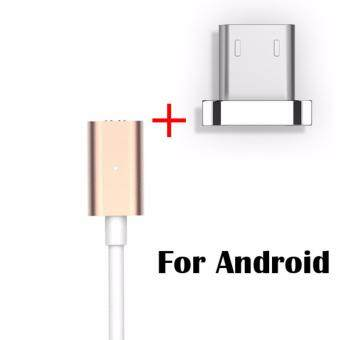 Harga High Speed Magnetic Charging X-Cable Mini 2 Metal USB Cable For SAMSUNG/ HUAWEI/ OPPO/VIVO/HTC/SONY ( Gold /Silver )