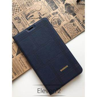 Harga Full Cover PU Leather Flip Case for Samsung Galaxy Tab 3V T116 (Blue)