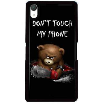 Harga Young Fashion Hot Sale Naughty Bear Warning Picture Phone Case For HTC Desire 816(Multicolor)