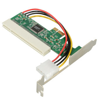 Harga PCI-Express PCI-E To PCI Bus Riser Card Efficiency Adapter Converter-