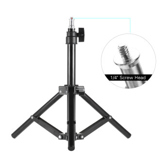 Harga Andoer Photography Photo Studio 50cm / 20inch Aluminum Alloy Mini Light Stand Table Top Backlight Stand