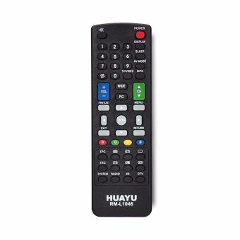 Harga Sharp LCD/LED TV Remote Control Replacement - Huayu RM-L1046