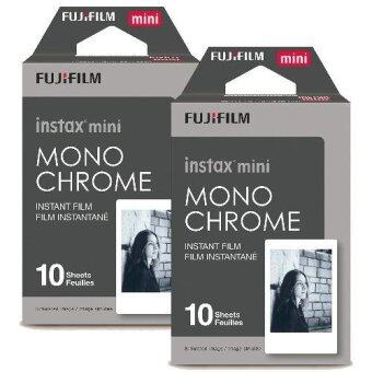 Harga FUJIFILM 2 BOXES OF 10 PRINTS MONOCHROME INSTAX FILM FOR ALL MINI INSTAX CAMERAS