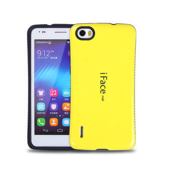 Harga iFace Heavy-Duty Shockproof Hard Case for Huawei Honor 6 (Yellow)