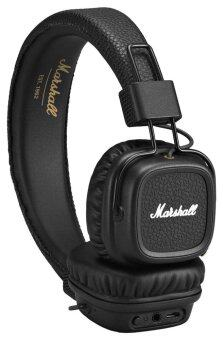 Harga Marshall Major On-Ear Headphones with Mic Wireless Earphone Black