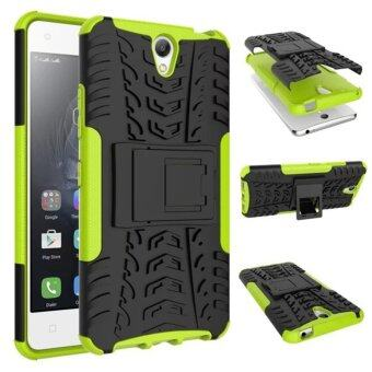Harga Moonmini Kickstand Hybrid Shockproof Case for Lenovo Vibe S1 (Green)
