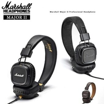 Harga Marshall Major 2 Headphones Generation Headset Remote Mic HIFI headphon