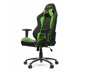 Harga AKRACING AK-NITRO-GN GAMING CHAIR BLACK & GREEN