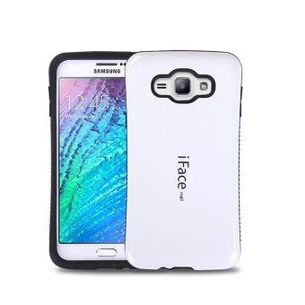 Harga iFace Heavy-Duty Shockproof Hard Case for Samsung Galaxy J7 J7008 (White)