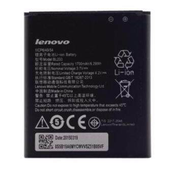Harga New Replacement Battery For Lenovo (BL-233) A3600-D A2800-D A3800-D etc