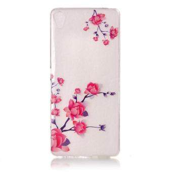 Harga Flex TPU Clear IMD Cover for Sony Xperia XA/XA Dual - Blooming Flower