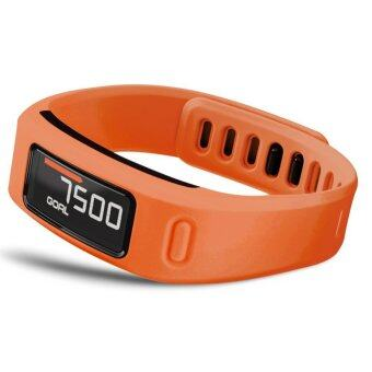 Harga Large Replacement Wrist Band with Clasp For Garmin Vivofit Bracelet (No Tracker) (Orange) L