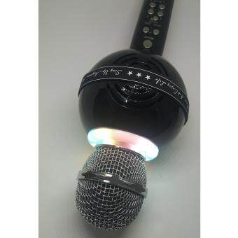 Harga Microphone Disco Light WSTER WS878 - FM Radio/MMC/USB/Selfie/Bluetooth (Ready Stock) Fast Delivery!!!