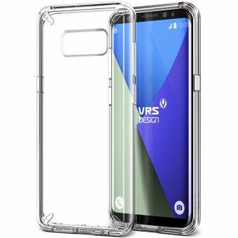 Harga VRS Design Crystal MIXX Slim Fit and Lightweight Case Cover for Samsung Galaxy S8 Plus – Clear