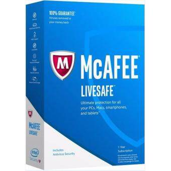 Harga McAfee LiveSafe 2017 - 3 Years Unlimited Device - Download