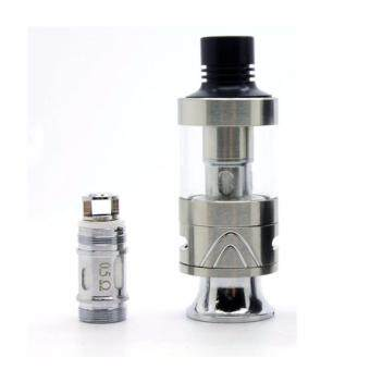 Harga Super Fast Marketing - Tobeco Mini Super Tank (SILVER ) For Vape And Electronic Cigarettes