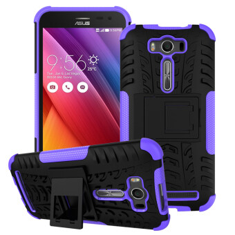 Harga Moonmini TPU + PC Case whith Kickstand Cover for ASUS ZenFone 2 Laser ZE550KL 5.5 inch (Purple)