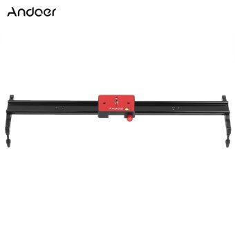 Harga Andoer 60cm Video Track Slider Dolly Track Rail Stabilizer Aluminum Alloy for Canon Nikon Sony Camera