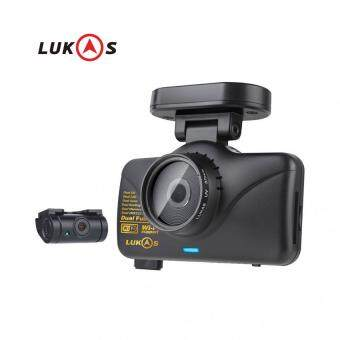 Harga LUKAS LK-7950 WD GPS Dual Full HD 1920x1080 LED 8GB+8GB Car Dash Camera Blackbox CH FHD + FHD + Integrated GPS (DUAL .BODY) w/Wi-Fi/1080p/30frame/Black box /made in korea