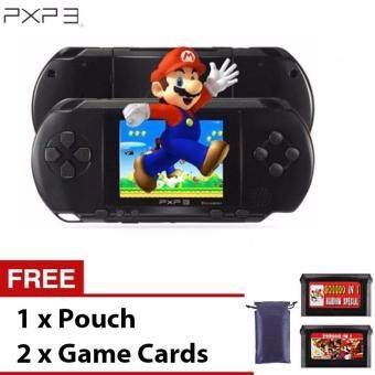 Harga PXP3 Slim Station Portable Handheld Game Player Video Game Console Retro Games with 2 Free Games Card and Pouch MD-2700