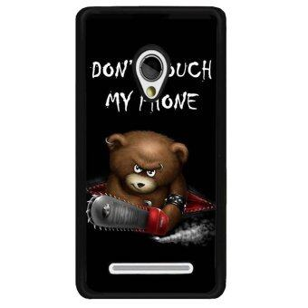 Harga Young Fashion Hot Sale Naughty Bear Warning Picture Phone Case For Asus Zenfone 5(Multicolor)