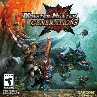 Harga 3DS Monster Hunter Generations (ENGLISH)