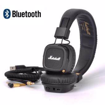 Harga Marshall Major Ⅱ Bluetooth Headphones Wireless Remote Headset Professional DJ Earphones 30 Hours of Playtime