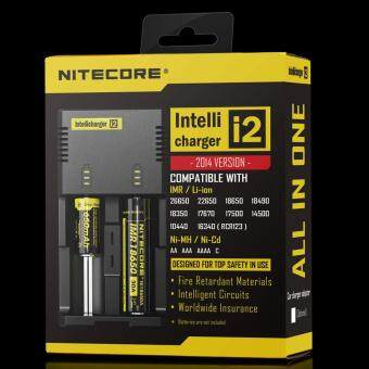 Harga Nitecore new I2 2016 version Intellicharger 2channel Universal Battery Charger