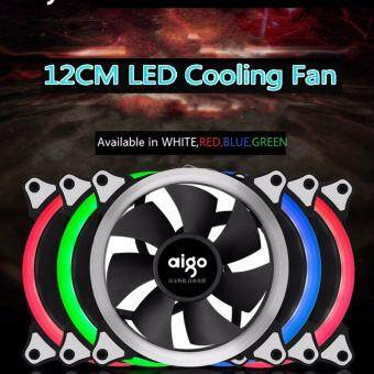 Harga Aigo 120mm LED casing fan (Rainbow colours)