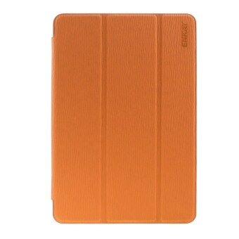Harga ENKAY Toothpick Texture PU Leather + Translucent Frosted Plastic Case with 3-folding Holder for Samsung Galaxy Tab S2 8.0 / T715(Orange)