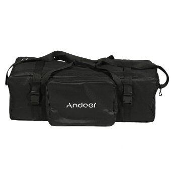 Harga Andoer 10in Photography Studio Light Kit Padded Carrying Bag for Light Stand Umbrella Flash Lighting Equippment