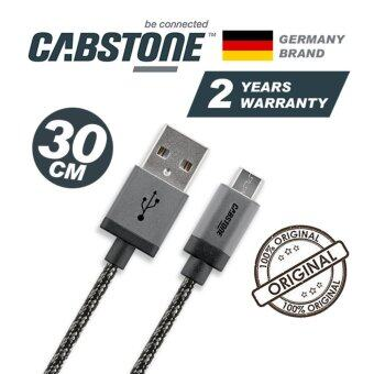 Harga CABSTONE 30CM Metal Charger Micro USB Cable HTC One A9 M9+Plus M8 M7 E8 X Butterfly 2 Desire