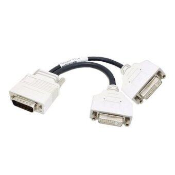 Harga DMS-59 to Dual DVI Converter Cable (White)