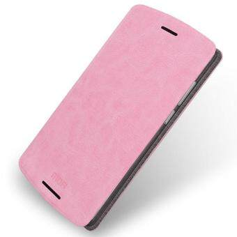 Harga MOFI Rui Series Leather Stand Cover for Lenovo A7010 / Vibe X3 Lite / K4 Note - Pink