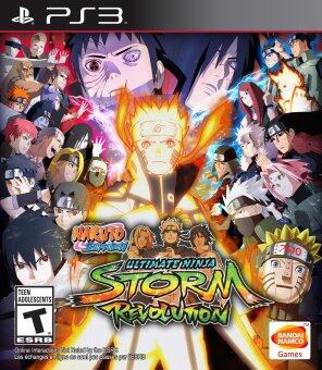 Harga PS3 Naruto Shippuden-Ninja Storm Revolution-R1/ALL