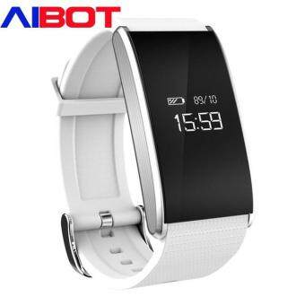 Harga Aibot A58 Smart Band Waterproof Healthy Blood Pressure Oxygen Heart Rate Monitor Fitness Tracker New Smartband for IOS Android Phone