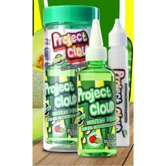 Harga Project Cloud - Peach Solero - 100ml (0mg) 5 in 1 Max VG E-Liquid E-Juice Flavor Vape E-Cigarette