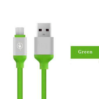 Harga Candy Colors TPE USB Type C Cable 3.0 Data Sync Charging USB 3.1 Cable for Huawei Xiaomi 5 Redmi 4 USB-C Cable