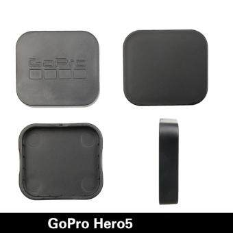 Harga Gopro Hero 5 Accessories Hot Sale PC Camera Lens Protective case Cover Cap for Go pro Hero 5 accessories (Black)