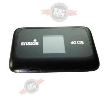 Harga Maxis Set MF910 4G LTE 150mbps Modem Wifi Mifi Modem Display Set (Black) (Unlock All Telco)