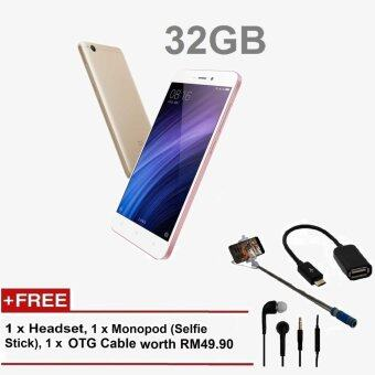 Harga Original Xiaomi Redmi 4A 2GB/32GB ROM(Local Manufacturer Warranty)