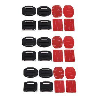 Harga 12Pcs Adhesive Mount Helmet Accessories