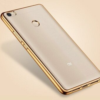 Harga Chrome Bumper TPU Case For Xiaomi Mi Max (Luxury Gold)