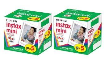 Harga Fujifilm Instax Mini Plain Film 100pcs