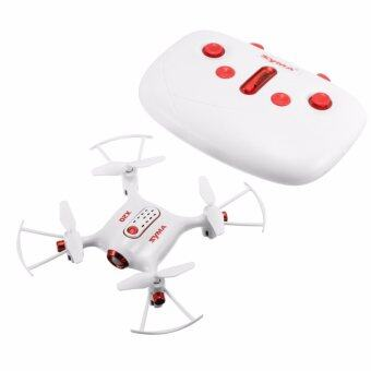 Harga Syma X20 2.4G 4CH 6Aixs Headless Mode Altitude Hold Mode RC Quacopter RTF ( White)