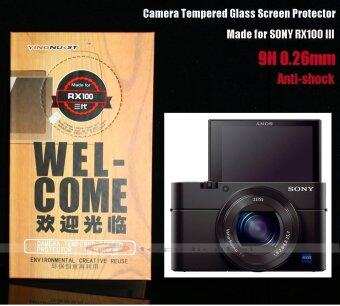 Harga 9H Shockproof HD Rugged Tempered Glass Screen Protector for SONY RX100 / II / III / IV / V / RX100 M2 M3 M4 M5