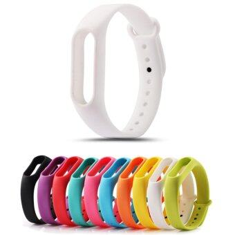 Harga For Xiaomi Mi Band 2 Bracelet Strap Miband 2 Colorful Strap Wristband Replacement Smart Band Accessories For Mi Band 2 Silicone
