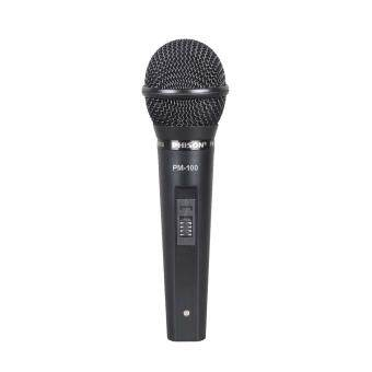 Harga Phison Microphone PM-100 (Wired 4m / Dynamic) Vocal & Professional